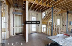 construction virtual tour tag