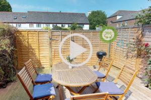 3d 360 tour garden thumbnail for london house share