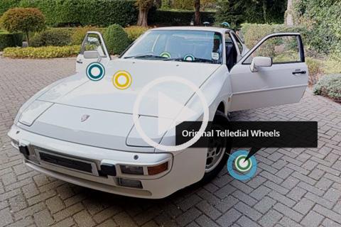 Porsche 944 3D Matterport virtual tour